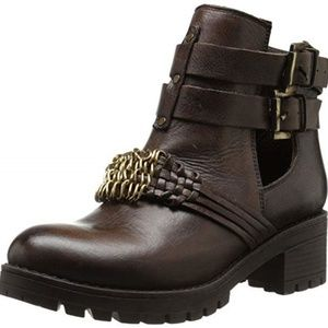 Miz Mooz Women's Dungeon Brown Boots 6 - NEW